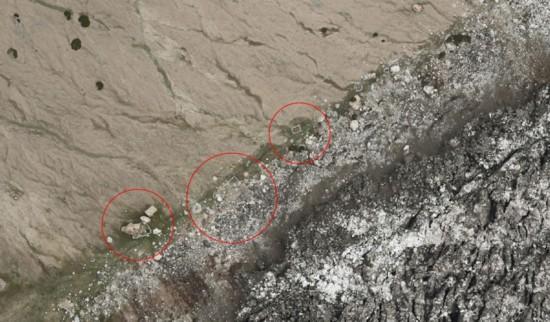 无人机航拍新疆公格尔九别峰揭示冰川灾害原因