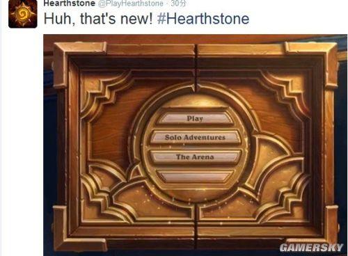 《炉石》官方推特泄露新玩法 据称不是合作模式