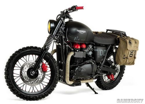 《合金装备5》同款摩托车正式推出 把妹神器