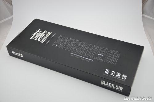 299元价位 首席玩家典骑版青轴机械键盘简测