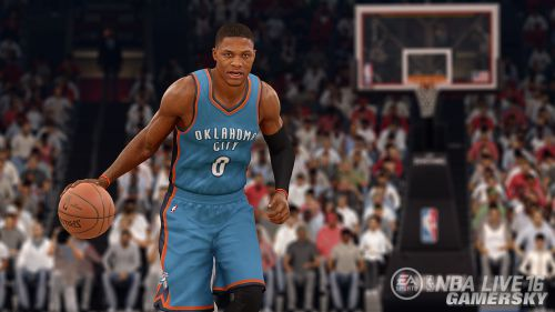 《NBA Live 16》预告 拟真动作捕捉欲超越2K