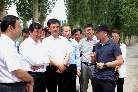 新疆尉犁携手极飞打造中国农业无人机第一县