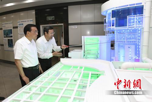 """李克强寄语中国核电:你们在铸""""国之重器"""""""