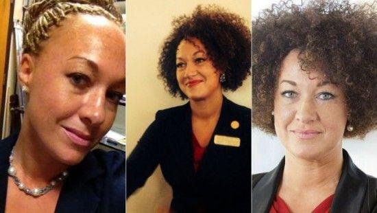 美白人女子假扮黑人 任黑人民权运动领袖