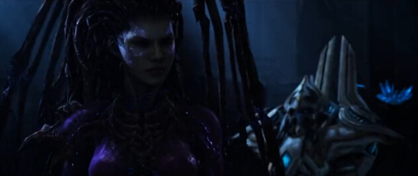 《星际2虚空之遗》上线时间确认:史诗级CG公布!