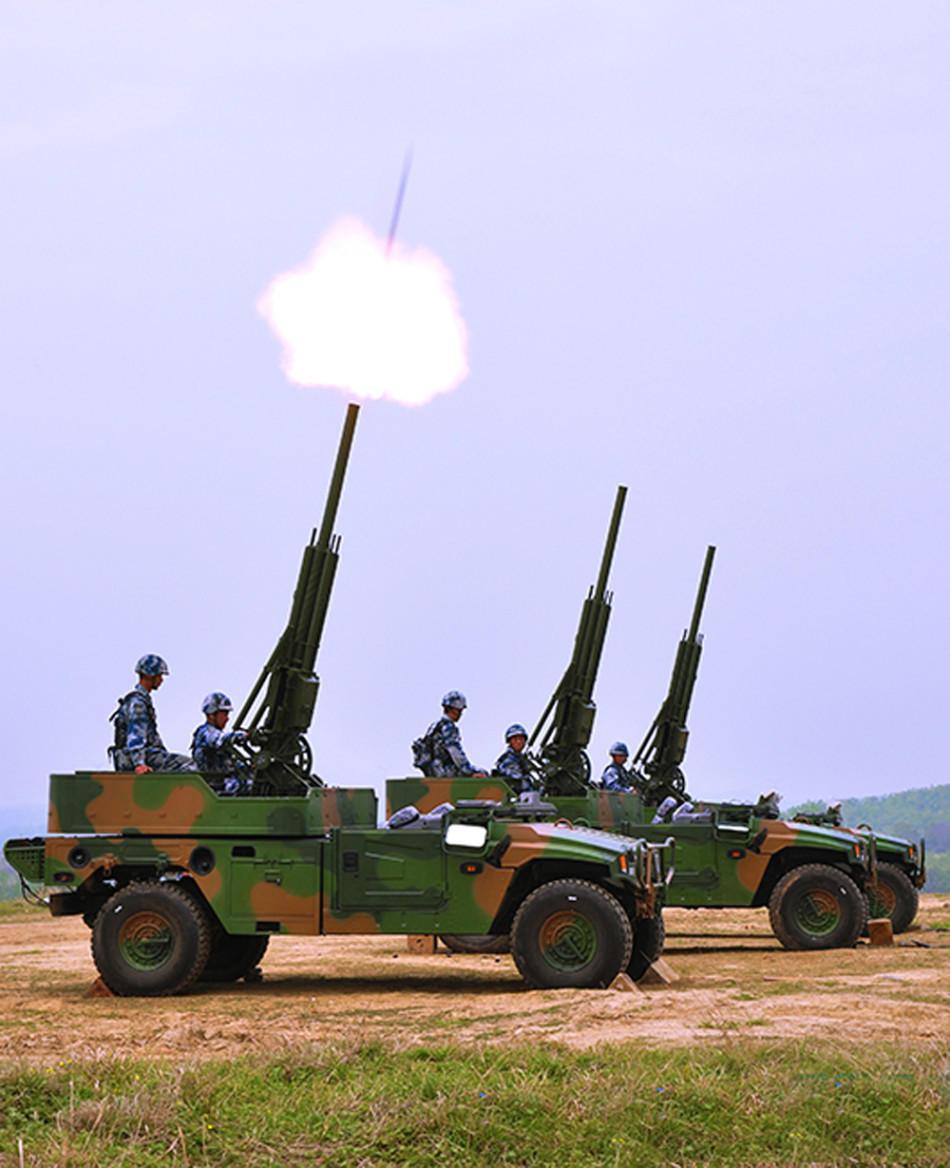 41军装备新型车载速射迫击炮