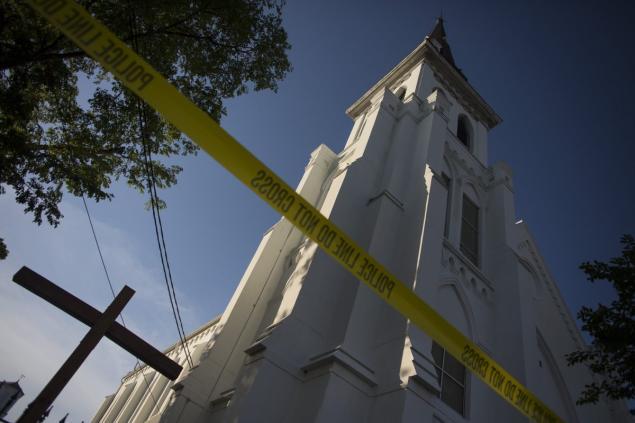 外媒:美国黑人教堂枪击案嫌犯声明满是仇意
