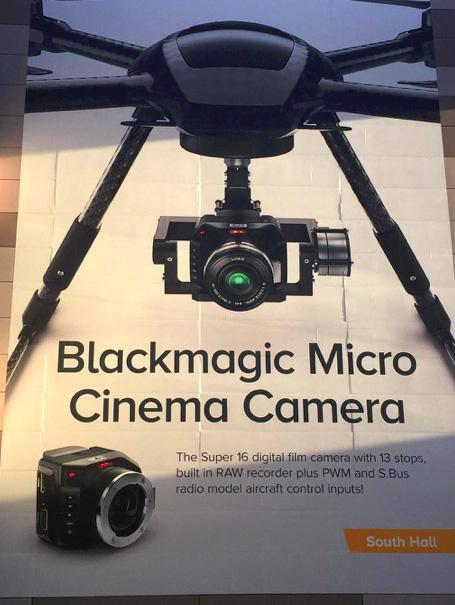 Blackmagic将推出适用无人机的电影摄影机