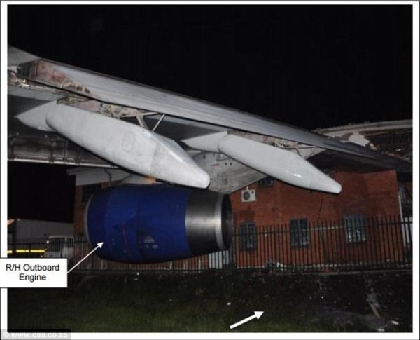 走错道英航747撞楼 机场滑行道标识受诟病