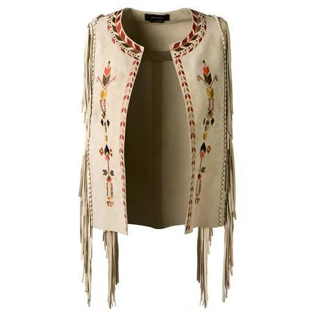 时尚衣橱:精选10款流苏衣 打造时尚牛仔女郎