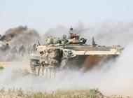 解放军步兵战车对抗作战