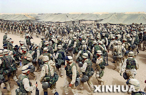 2003年伊拉克战争爆发场景回放(组图)