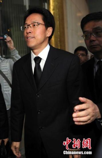 香港中联办主任张晓明与立法会建制派议员茶叙