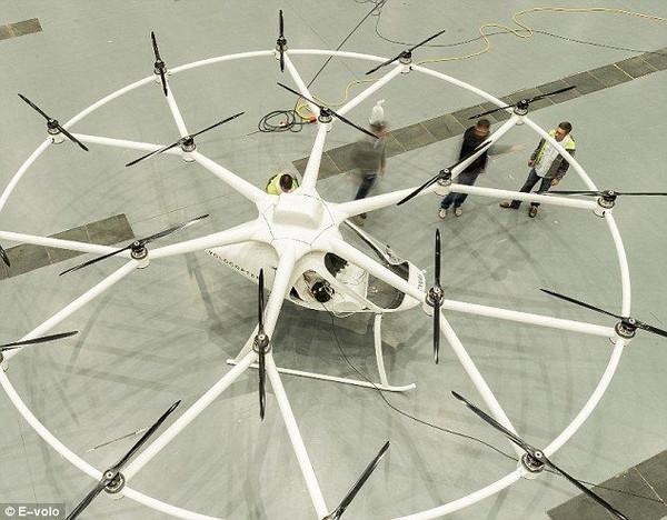 德国研制18个翅膀的直升机!酷炫到没有朋友!