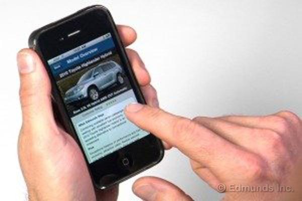 外媒发布智能手机购车调查 丰田最受欢迎