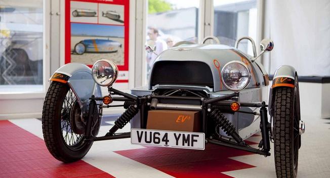 摩根三轮纯电动车EV3发布 可续航241公里