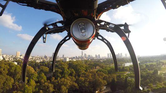 领先美国!以色列无人机送货服务已开始运营