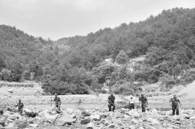 无人机参与搜救失踪村民 已发现4名村民遗体(图)