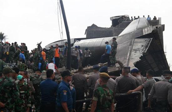 印尼坠机遇难人数升至113人