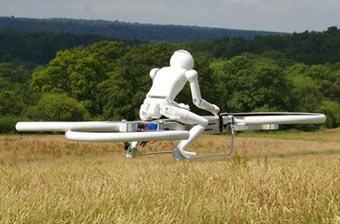 美军未来装备新型飞行摩托?