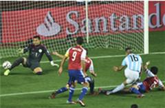 美洲杯半决赛:阿根廷6-1巴拉圭进决赛