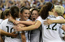 女足世界杯-洛伊德传射 美国2-0德国率先进决赛