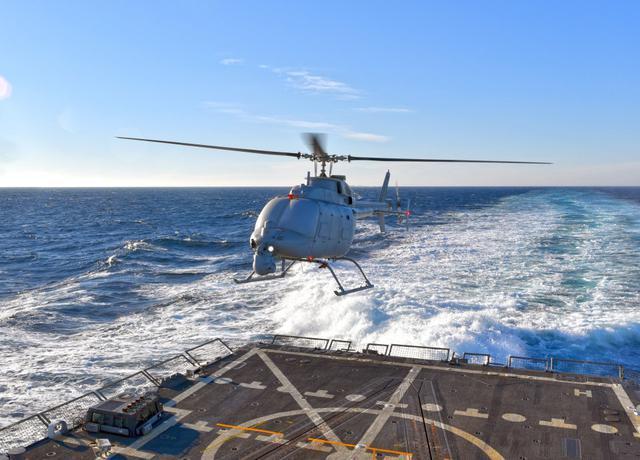 美国正测试一款更大的火力侦察兵无人机(图)