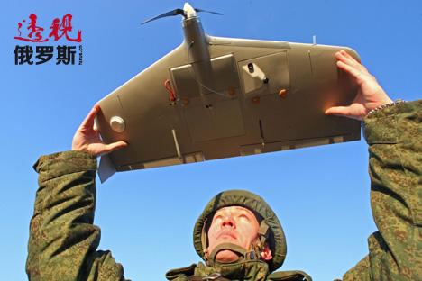 """俄制""""海盗""""小型无人机问世 明年将交付部队"""