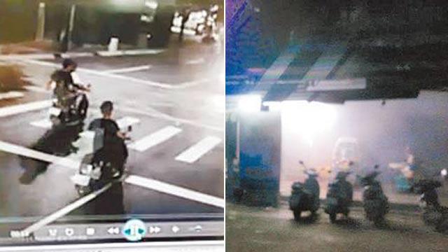 台湾上百人深夜飙车叫嚣 持棍伤人丢汽油弹