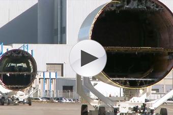 3分钟看完空客A350客机制造全过程