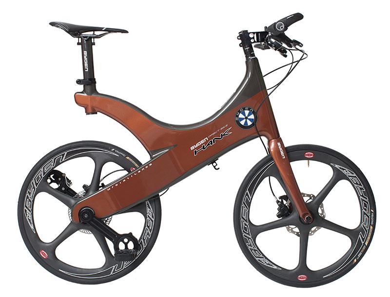 无链条自行车亮相:超轻车身可减少动力损失
