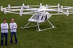 载人无人机在路上:延续铁包皮的出行方式(组图)