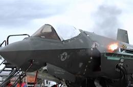隐形机机炮怎么打?F-35机炮射击演示