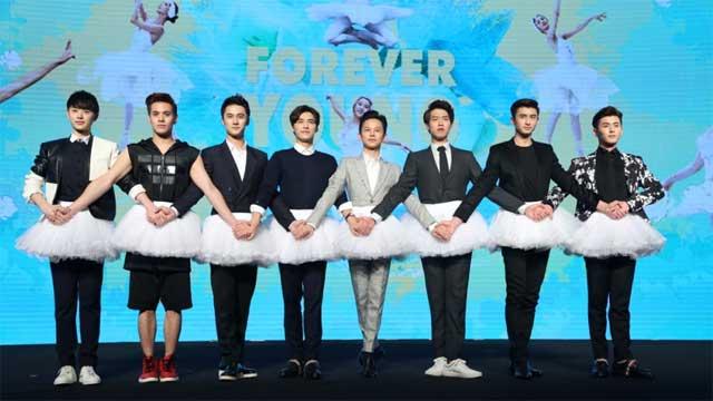 《栀子花开》首映 何炅李易峰搞笑挑战芭蕾舞