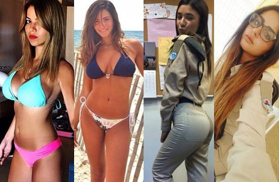 大量以色列女兵比基尼照放送