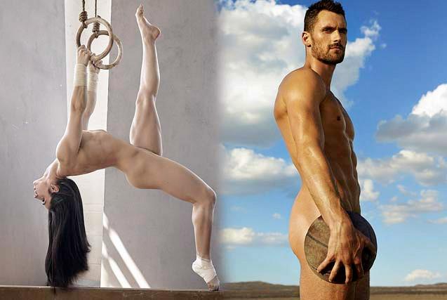 众体育明星全裸登ESPN年度美体专刊