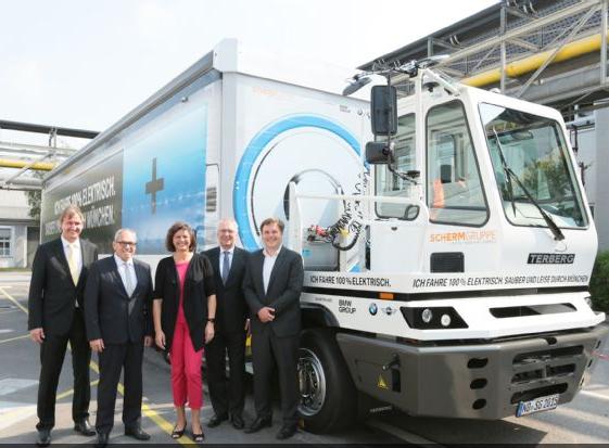 宝马40吨级电动卡车德国投入使用