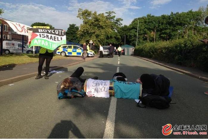 以色列在英国的无人机发动机厂遭抗议 被迫关停