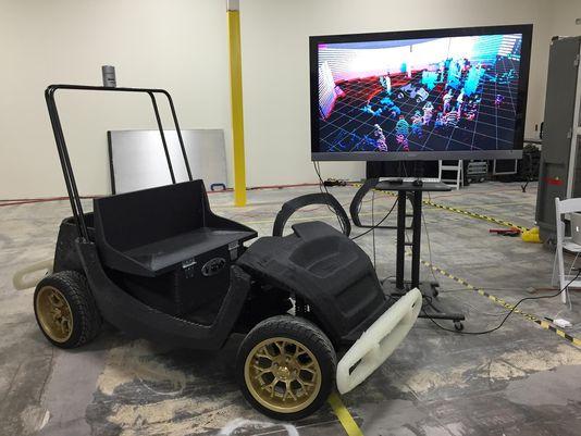 密歇根大学研发无人驾驶3D打印车 拟投入使用