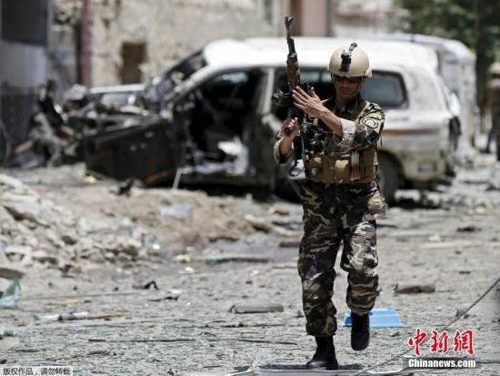 阿富汗情报部门:IS首领在阿被美军无人机打死