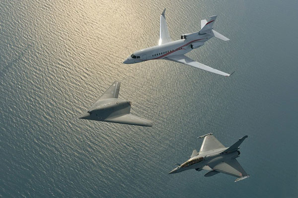 有人机无人机混编法:未来空战的新趋势?
