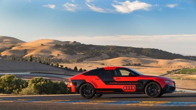 奥迪RS 7无人驾驶车减重400kg 创速度纪录