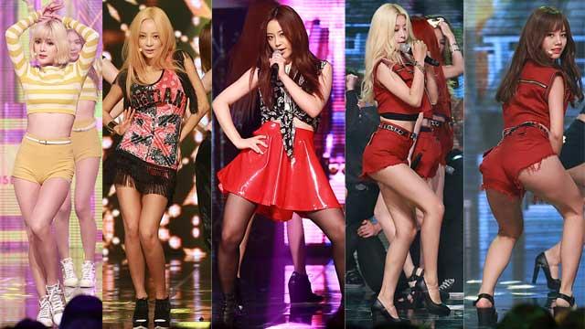 少时&AOA等热舞《冠军秀》 夺一位泰妍激动万分