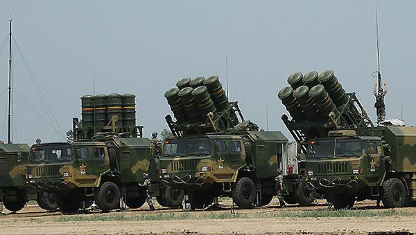 北京军区大量列装红旗16导弹