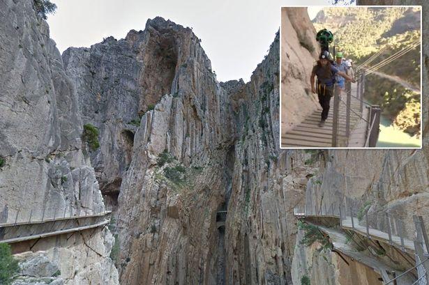 西班牙长7000米全球最惊险栈道重新开放