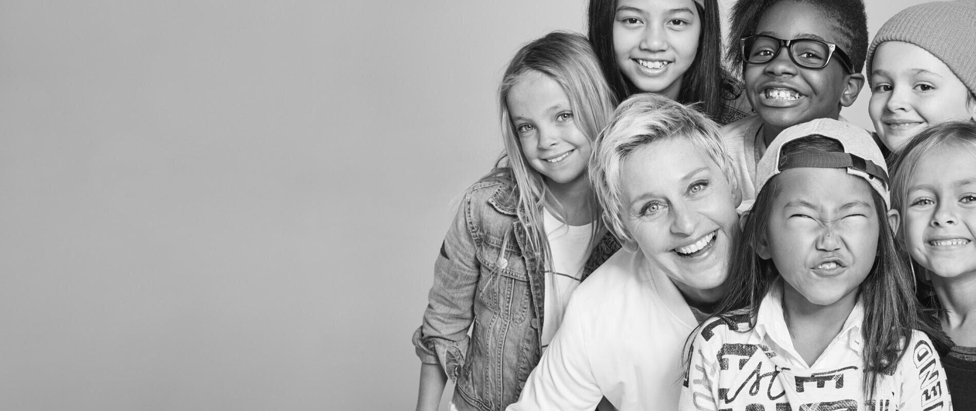 Gap搭CBS名嘴艾伦合作推出童装系列GapKidsxED