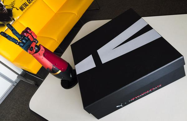 铁粉必入 彪马即将推出《合金装备5》主题皮靴