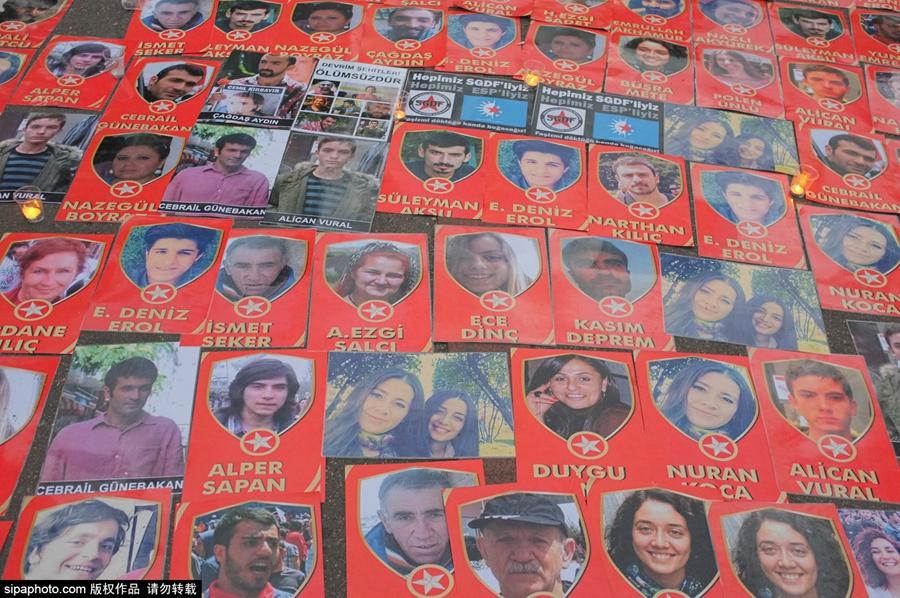 穆斯林图片经字- 英国当地时间7月21日,伦敦库尔德人社区团体就此前发生在伦敦的恐