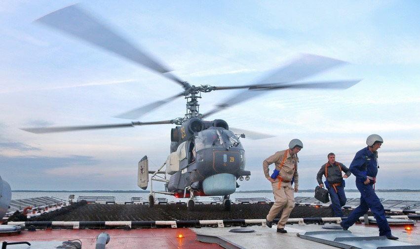俄罗斯守卫级护卫舰机敏号