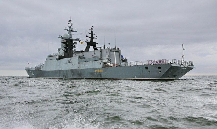 俄罗斯机敏号护卫舰